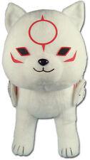 *Legit* Okami Den Standing Chibiterasu 12'' Authentic Game Stuffed Plush #52612