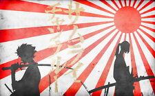 "047 Samurai Champloo - Japanese Anime Manglobe 22""x14"" Poster"