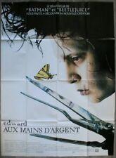 EDWARD AUX MAINS D'ARGENT Affiche Cinéma 160x120 Movie Poster TIM BURTON