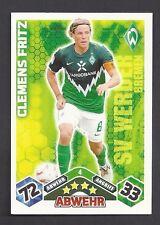 Clemens Fritz Match Attax 2010/11 Topzustand Werder Bremen