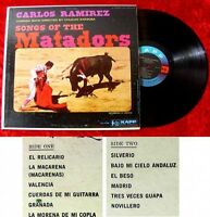 LP Carlos Ramirez Songs of the Matador