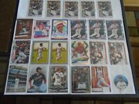 WASHINGTON NATIONALS JUAN SOTO X23 CARD LOT INSERTS & BASE NICE LOT GREAT YEAR!