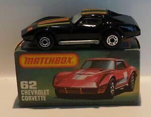 Matchbox Superfast Series 62D Chevrolet Corvette