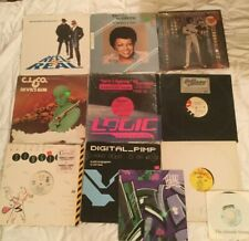 Hip Hop Mixed Vinyl Lot-C.J. & Co, Cover B, Reel 2 Real, System, Missy Elliott