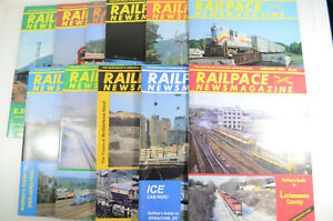 Railpace Magazine - 11 Issues - 1994