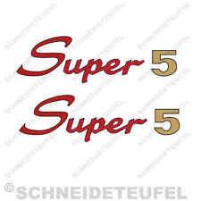 KREIDLER FLORETT SUPER 5 AUFKLEBER SET NEU - 30213