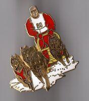 Pin's Husky (chiens de traineau) signé démons et merveilles