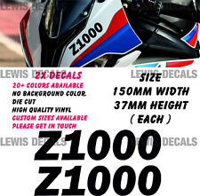 Kawasaki Z1000 V3 Stickers Decals Motorcycle Moto GP Fairing Panel Belly Pan