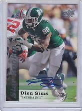 2013 UPPER DECK STAR ROOKIE AUTOGRAPH DION SIMS #161