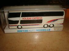 Rietze #60267 HO 1/87 SETRA 328 DT bus HOLIDAY EXPRESS    MIB (50/057)