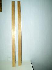 2 LATTES EN BOIS POUR SOMMIER DE LIT OU CANAPE CLIC CLAC / LONGUEUR : 75,5 cm