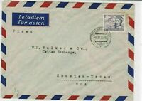 czechoslovakia 1945 airmail stamps cover ref 19680