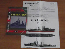 THE AMERICAN DESTROYER USS DRAYTON PROFILE MORSKIE 28