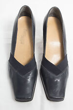 """Easy Steps"" Size 8C - Amazing Ladies Black Leather Shoes. Great! Bargain!"
