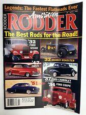 American Rodder Magazine April 1989