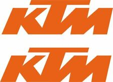 KTM adhesivos con el logotipo de 2x 300mm X 92mm 250SX Super-Duke RC8 1190 X-Bow MX