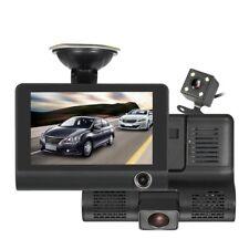 VIDEOCAMERA PER AUTO DASH CAM FULL HD 1080 P CARDVR WDR 3 LENTI VISIONE NOTTURNA