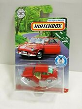 Matchbox '65 Volkswagen Type 3 Fastback Moving Parts Mbx Road Trip Red Die-Cast