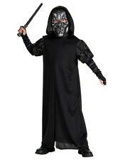 """Death Eater Robe Kids Outfit,Medium, Age 5 - 7, HEIGHT 4' 2"""" - 4' 6"""""""