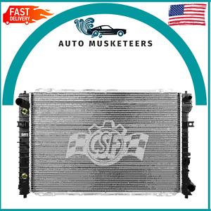 Radiator-1 Row Plastic Tank Aluminum Core CSF 2993 For Ford & Mazda & Mercury