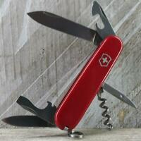 Victorinox Spartan Swiss Army Knife Red Multi-Tool Camp EDC Good Used Condition