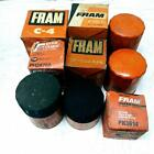 Lot of 9 Assorted Fram Oil Filters C4 CH200PL PH3614 PH8A PH2870A CH236APL PH25