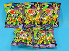 5x Mega Bloks TMNT Teenage Mutant Ninja Turtles Series 1 Minifig Blind Bags