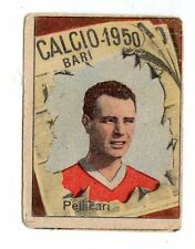 CALCIO FIGURINA  CALCIATORI   VAV  CAMPIONATO 1950  BARI  PELLICARI