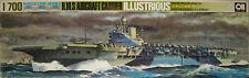 GB Flugzeugträger ILLUSTRIOUS, Aoshima, Bausatz, 1:700