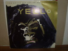 "YELLO  "" YOU GOTTA SAY YES TO ANOTHER EXCESS  ""  LP"