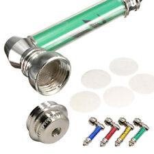 1x Metal Pipe Jamaica Tobacco Smoking Pipes Smoke Detectors & Pipe Screen Mini