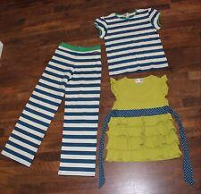 Matilda Jane Sz 14 Outfit Lot Good Hart Anchors Away Striped Blue