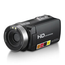 24MP LCD Touchscreen Digital Camera Camcorder DV 1080P IR Night Vision 16X Zoom