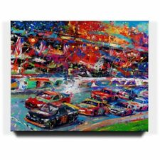 Blend Cota The Great American Race 48 x 60 S/N LE Gallery Wrapped Canvas