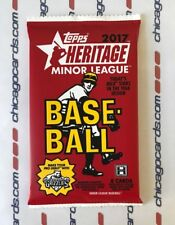 2017 Topps Heritage Minor HOBBY Pack(Ronald Acuna Clint Frazier Real One Auto)?