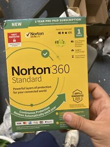 Norton 360 Standard 15 Month Antivirus Software for 1 Device PC/Mac Download