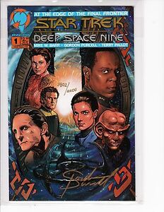 Star Trek Deep Space Nine  #1 (Signed&Numbered) 1993,  Malibu/Dynamic Forces