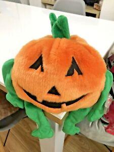Ty Beanie Buddies Collection 1999 Pumkin Pumpkin Plush Soft Toy Halloween Teddy