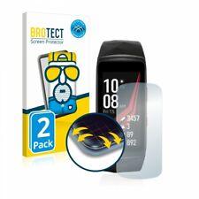 Samsung Gear Fit 2 Pro , 2 x BROTECT® Matte Flex 3D Screen Protector, Anti-Glare