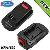 20V Battery Adapter HPA1820 For Black & Decker 18V To 20V HPB18 FSB18 LBXR2020