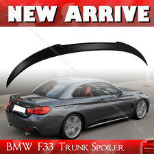 BMW 4-Series F33 Convertible Rear M4 Look Sport Trunk Spoiler Painted All Color