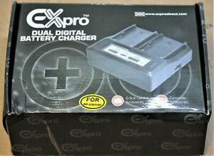Expro Dual Digital Battery Charger