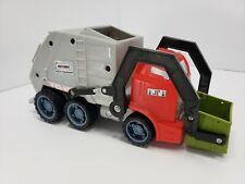 Rare Color! - 2005 MATCHBOX Waste Management Trash Truck w/ Sounds HTF!