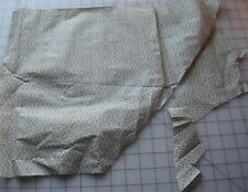 7115 Pieces of antique 1870's cotton fabric, shirting with tiny black florals