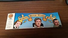 PC (Pacific Comics) Famous Movie Stars of the 1930s' (1984), FREE SHIPPING