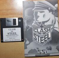 CLASH OF STEEL Juego PC original de SSI 1993 Juego Segunda Guerra Mundial