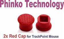 2x Red Cap IBM/LENOVO ThinkPad Trackpoint Keyboard mouse