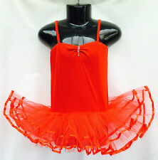 Girls Tutu, Ballet, Fairy Dress, Costume Red Approx 2-4yrs