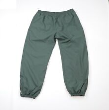 Vintage 90s Champion Mens XL Distressed Faded Lined Blank Joggers Pants Green