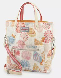 Cath Kidston reversible cross body bag 100% cotton floral summer NWT Gift
